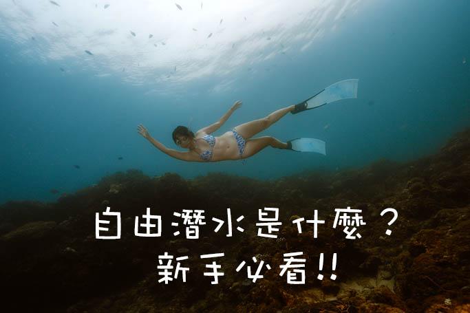 自由潛水 是什麼